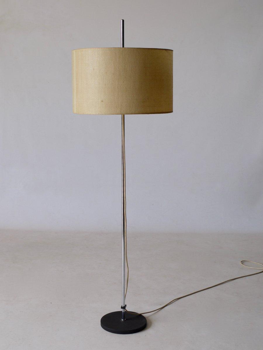 Shantung Stehlampe von Raak, 1960er