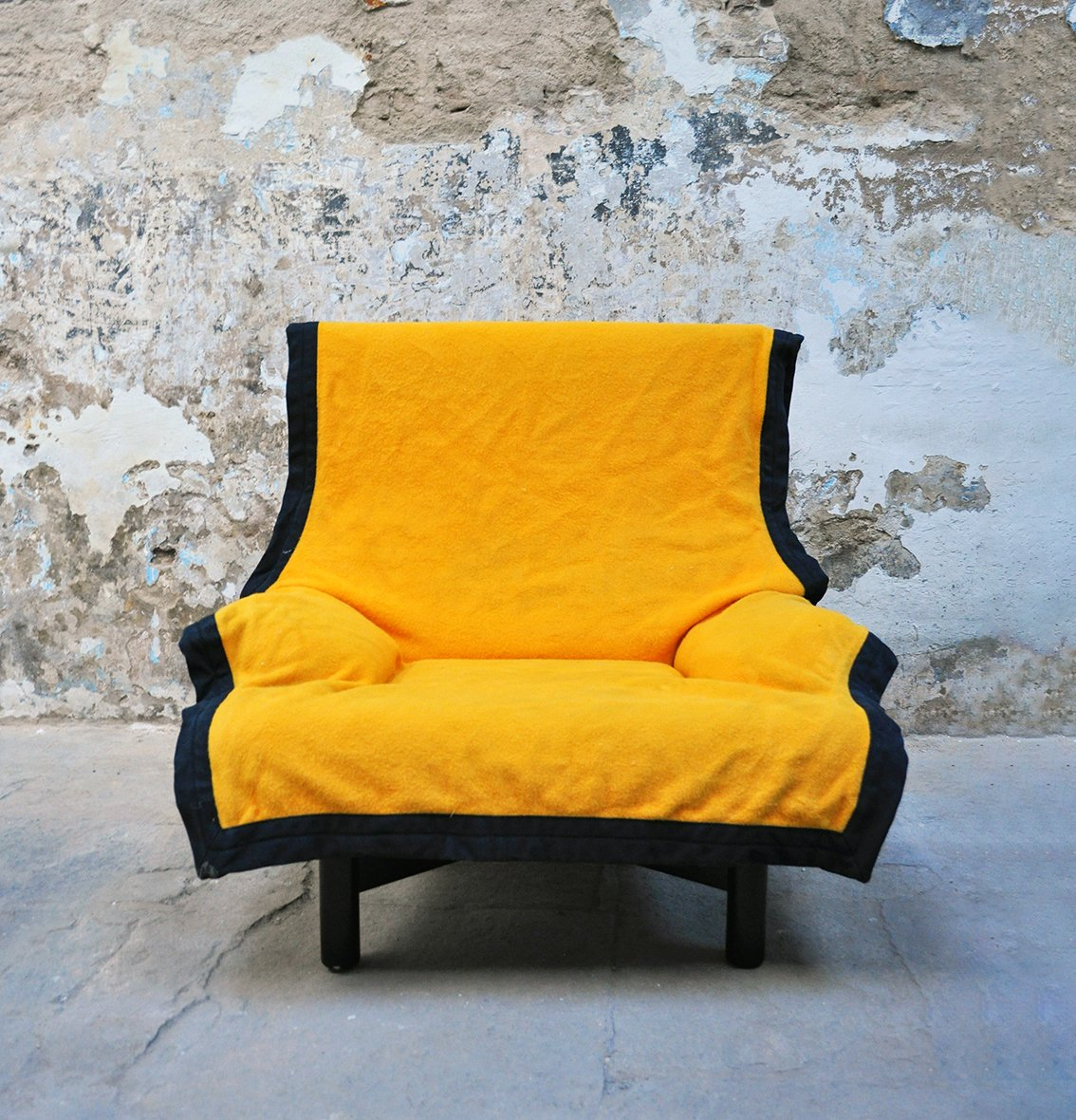 Vintage Sindbad Sessel von Vico Magistretti für Cassina