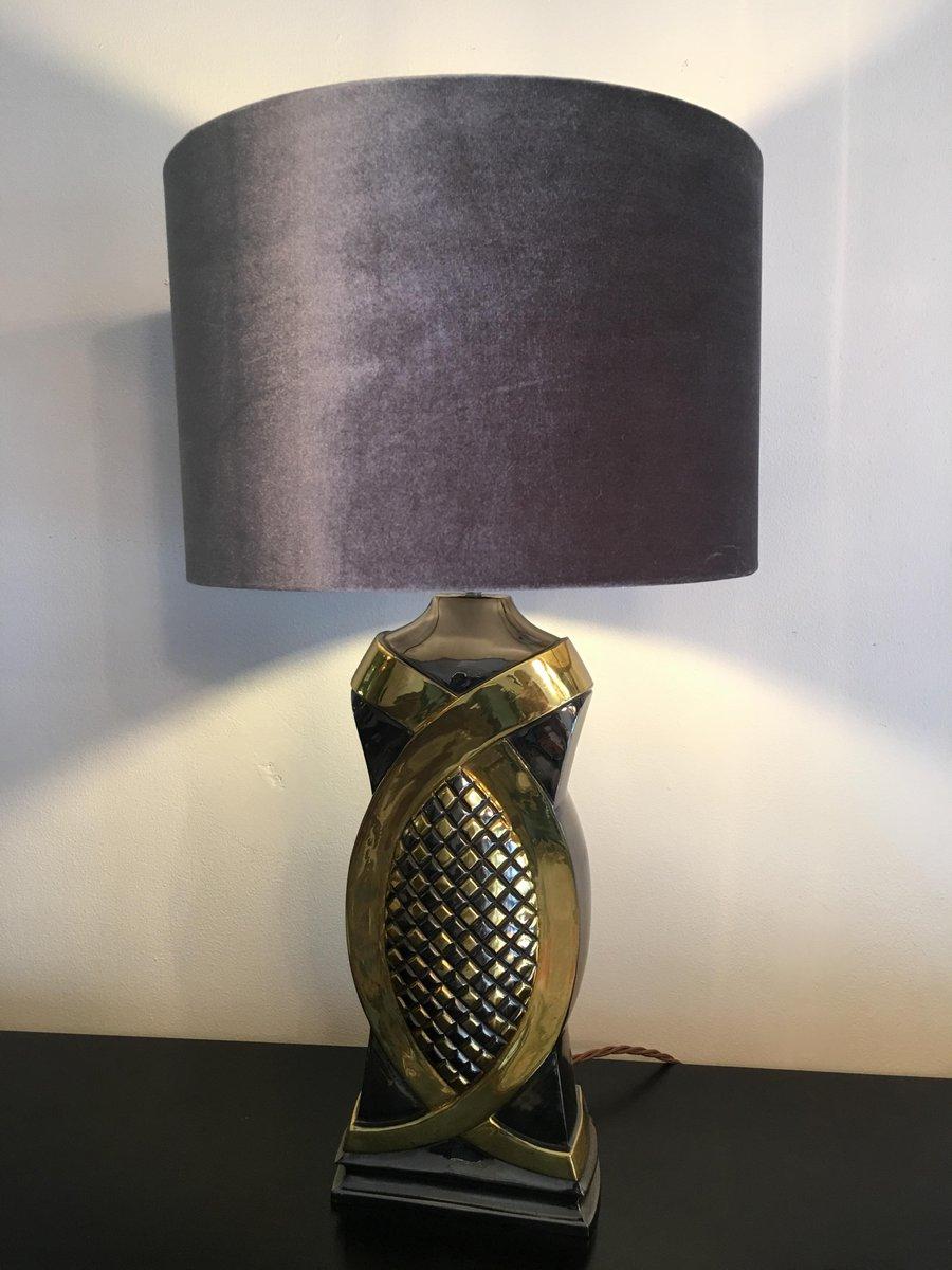 Belgische Vintage Tischlampe