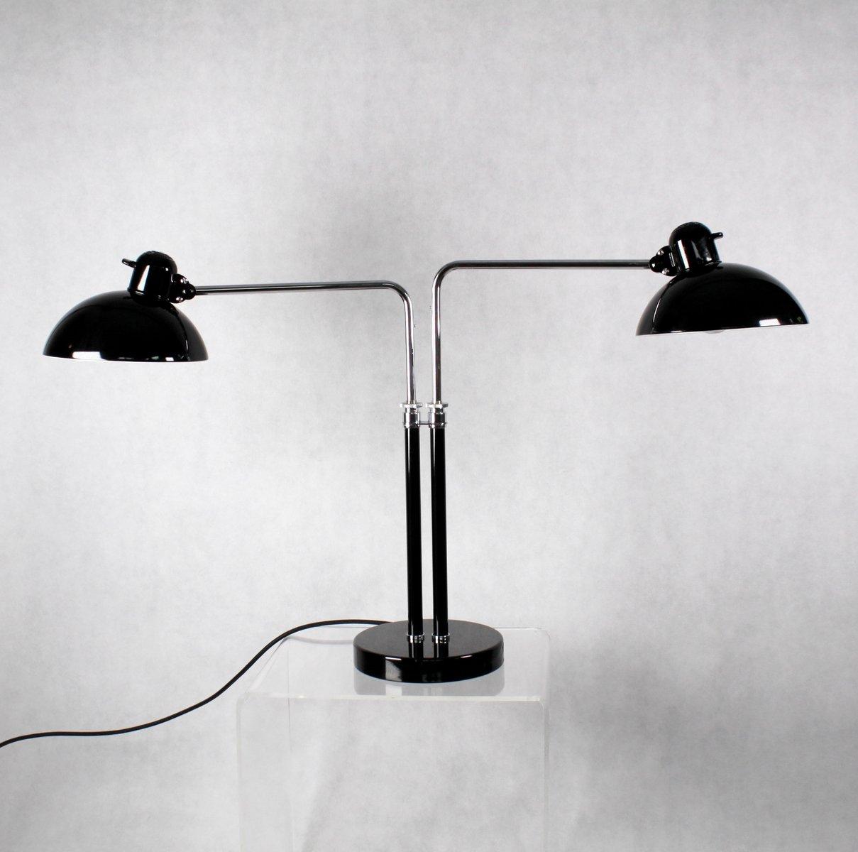 Vintage Doppelarmleuchte von Christian Dell für Kaiser Idell