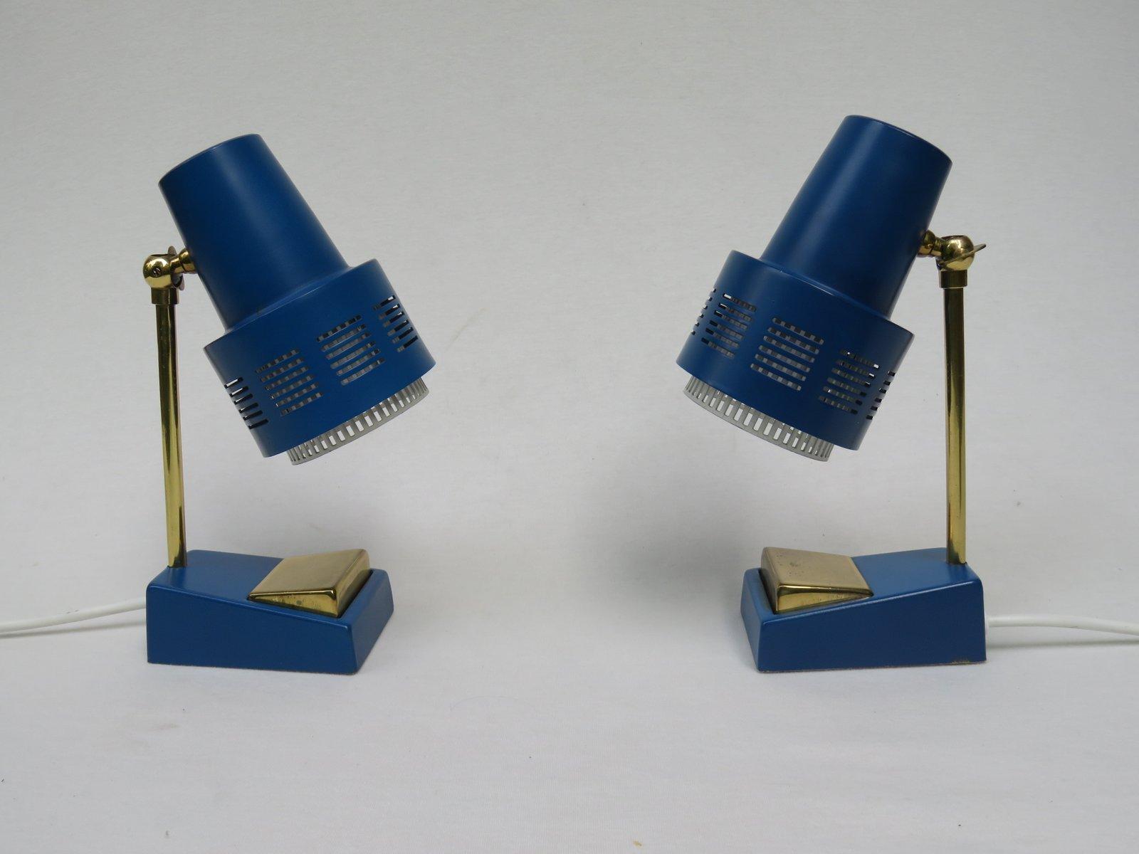 Mid-Century Nachttischlampen, 1950er, 2er Set