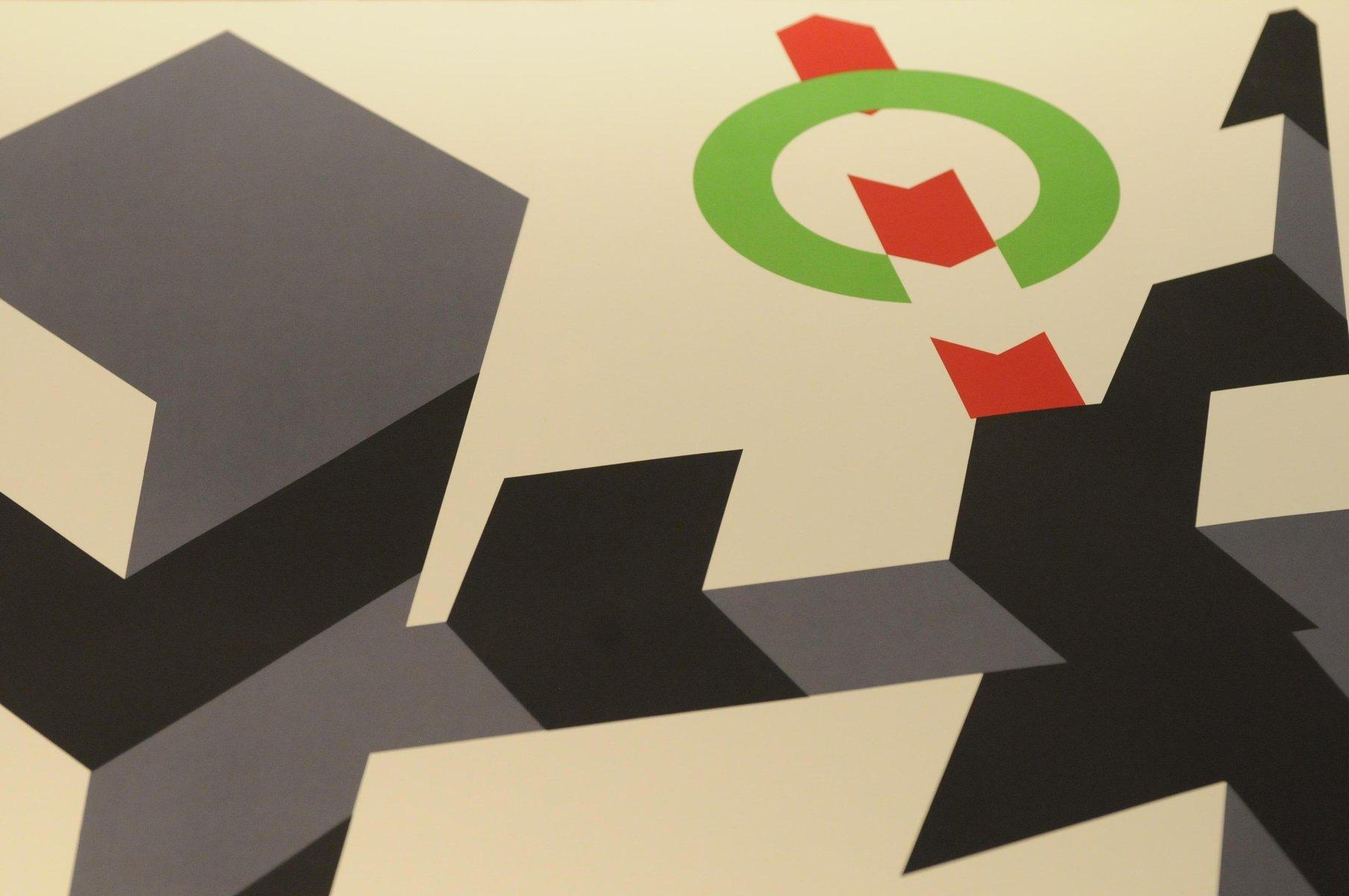 olympische spiele m nchen poster von allan d 39 arcangelo 1972 bei pamono kaufen. Black Bedroom Furniture Sets. Home Design Ideas