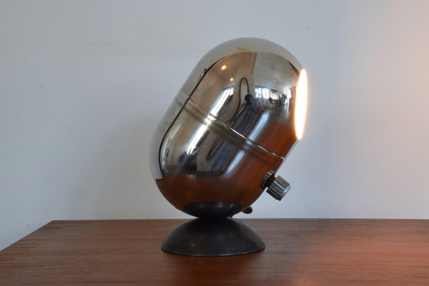 Vintage Chromlampe von Vittorio Gregotti, Ludovico Meneghetti & Giotto...