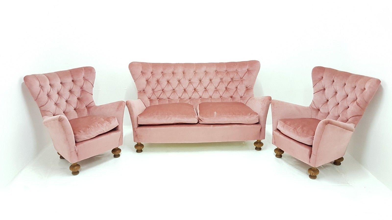 Vintage Sofa 2 Sessel 1960er Bei Pamono Kaufen