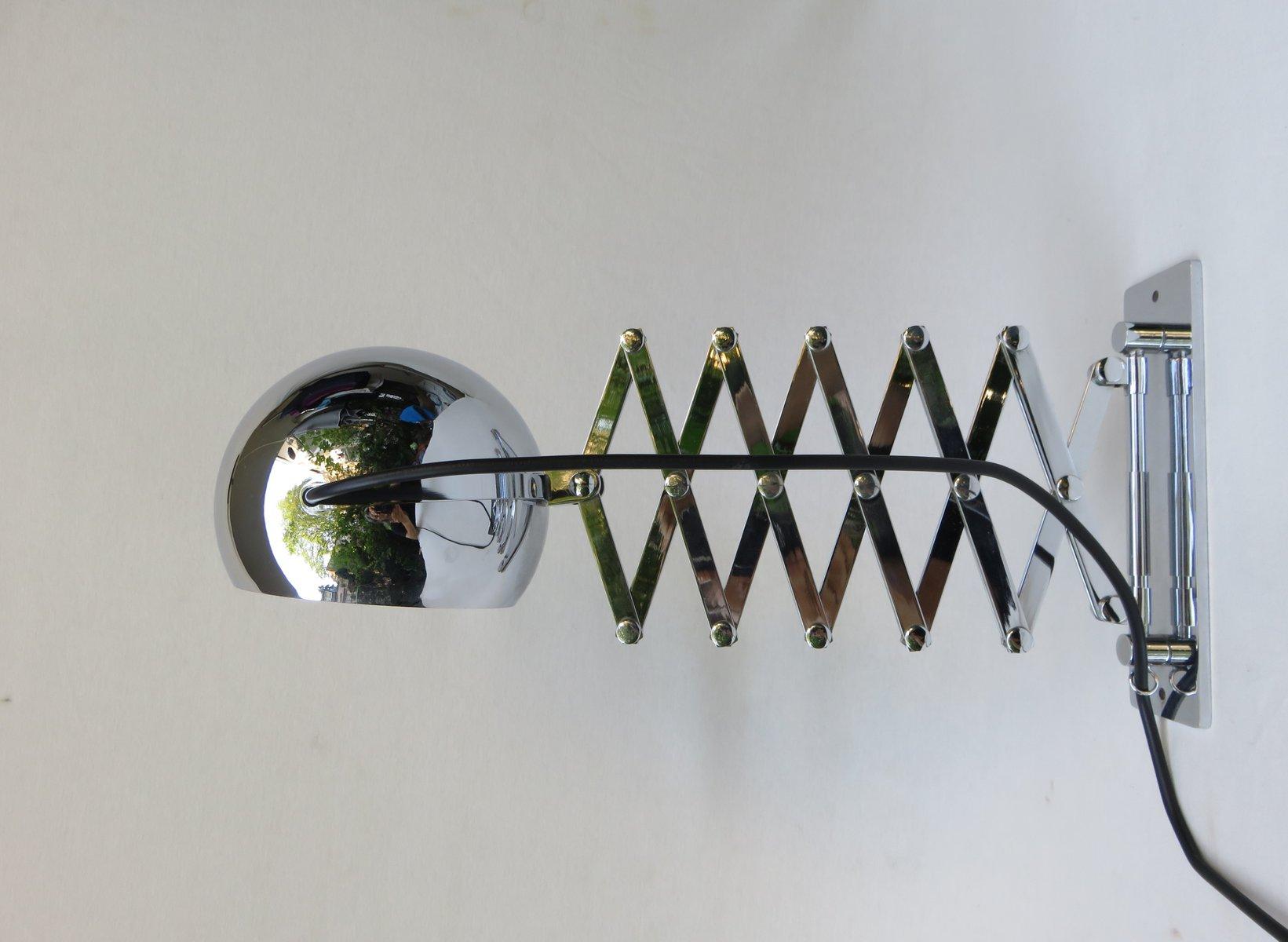 Scherenlampe von Dorothee Becker & Ingo Maurer für Design M, 1968