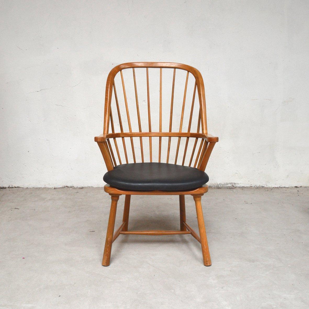 Mid-Century Stuhl aus Ulmenholz, 1960er