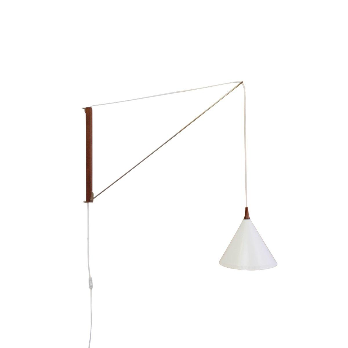 Arc Wandlampe mit Gegengewicht von Willem Hagoort für Hagoort, 1950er