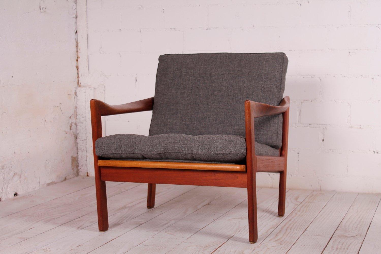 Teak Easy Chair By Illum Wikkelsø For Niels Eilersen 1960s Bei