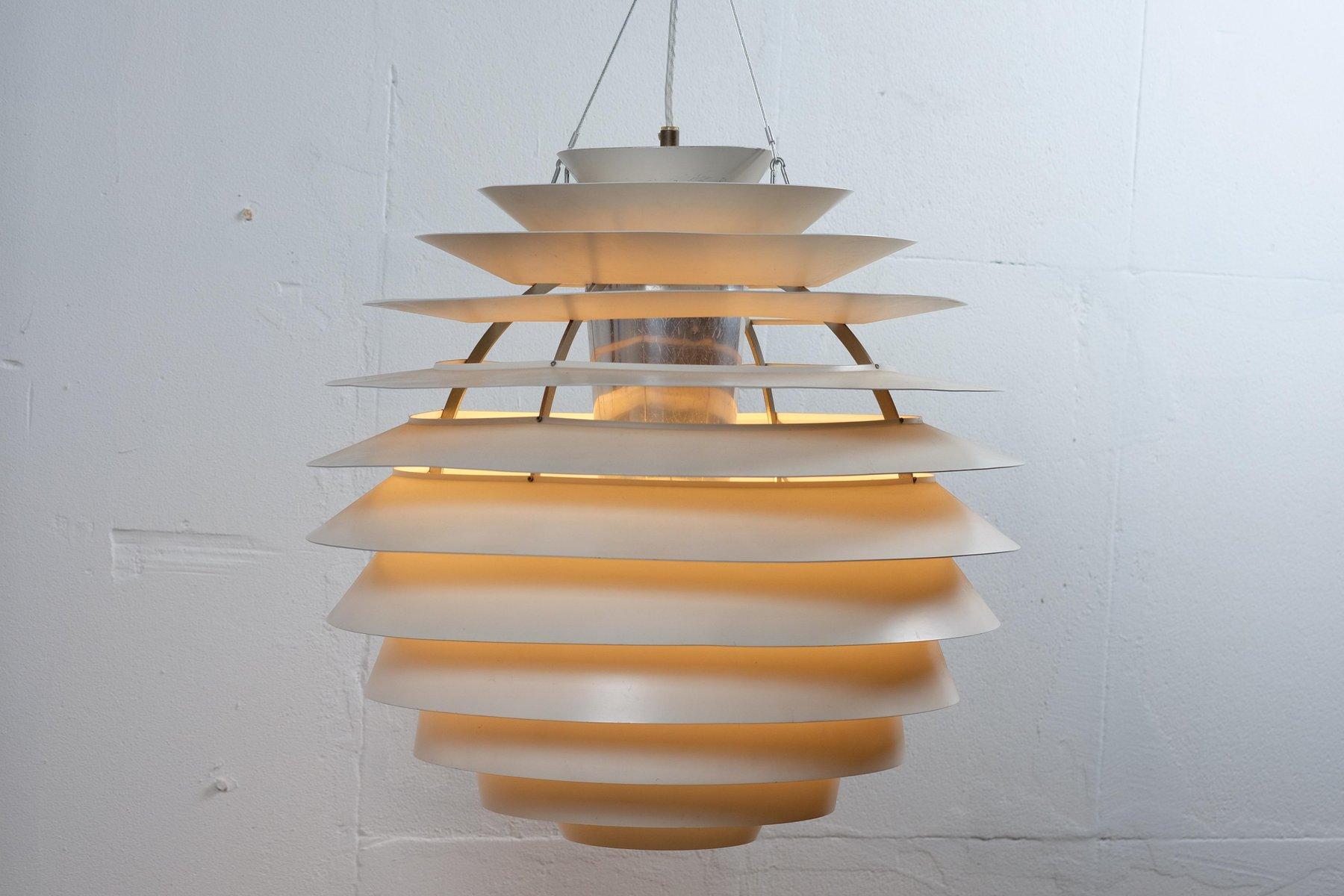 Louvre Lampe von Poul Henningsen für Louis Poulsen, 1950er