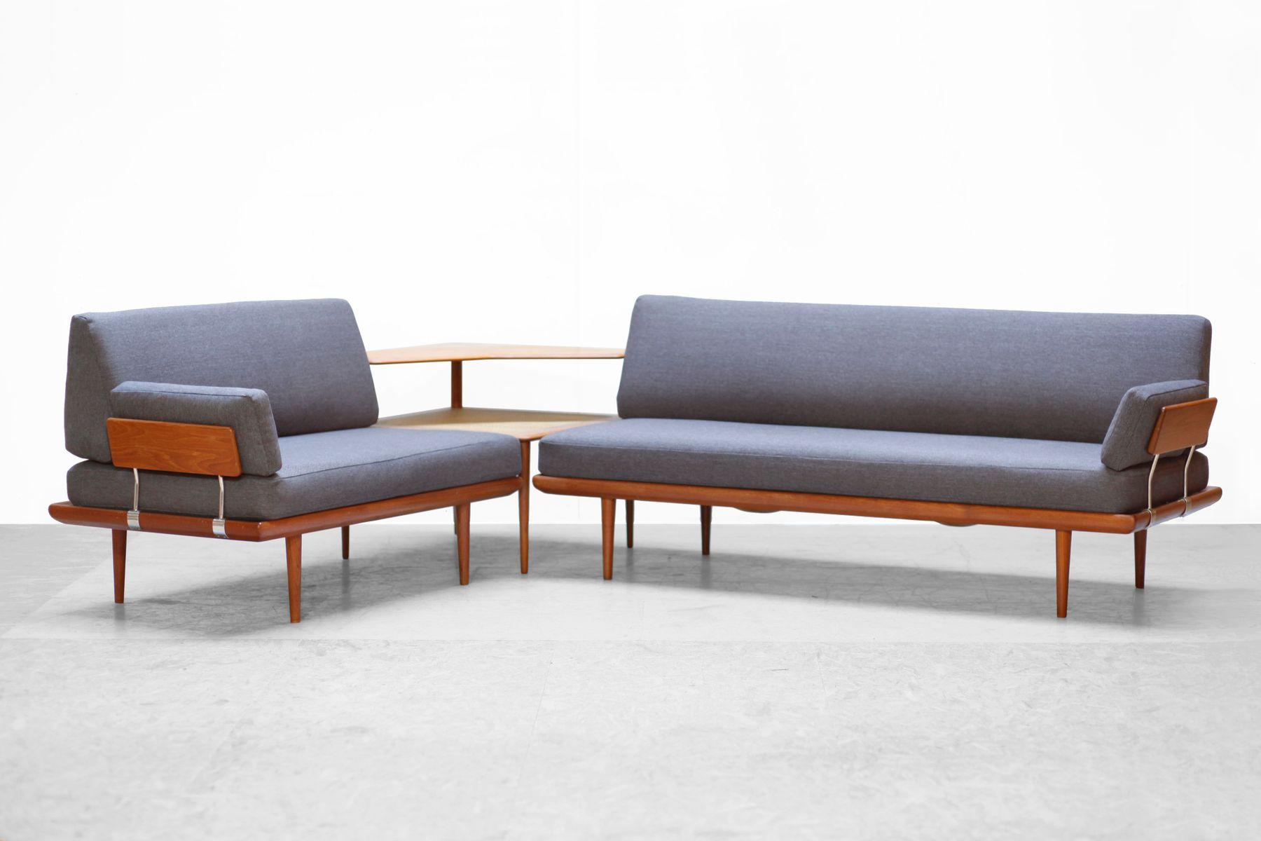 Danish Modern Teak Sofa Set By Peter Hvidt U0026 O.M. Nielsen For France U0026 Son,  1950s