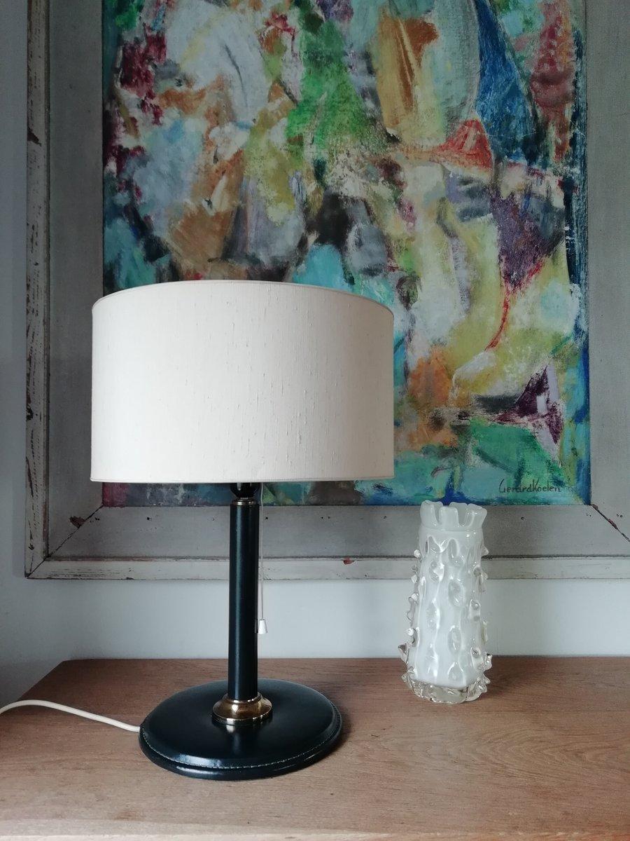Tischlampe von Jacques Adnet, 1950er