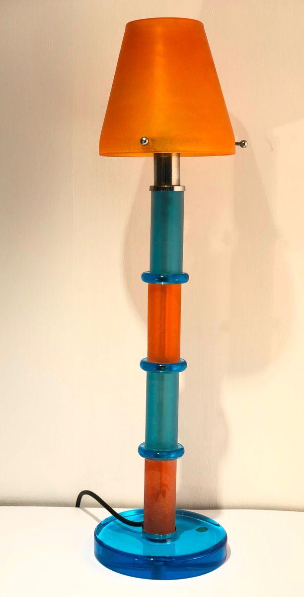 Arlecchino Tischlampe von Gino Cenedese, 1980er