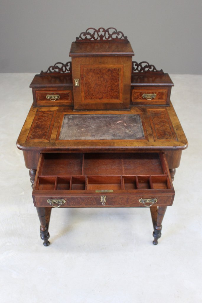 Antique Ladies Work Table - Antique Ladies Work Table For Sale At Pamono