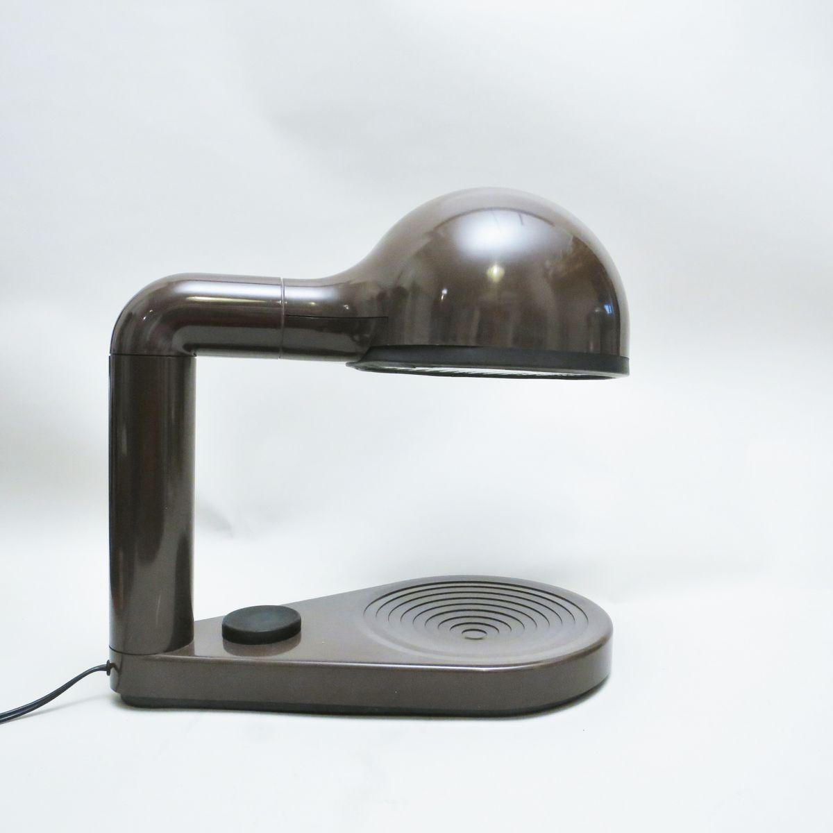 Drive Tischlampe von Adalberto Dal Lago für Bieffeplast, 1974