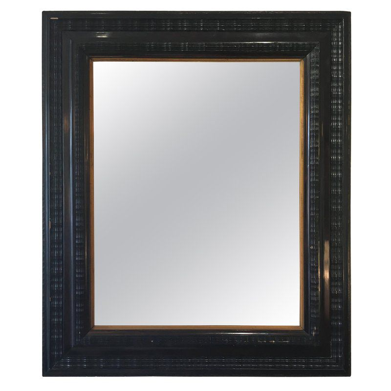 Large Antique Flemish Style Mirror With Ripple Frame 5 2 400 00 Price Per Piece