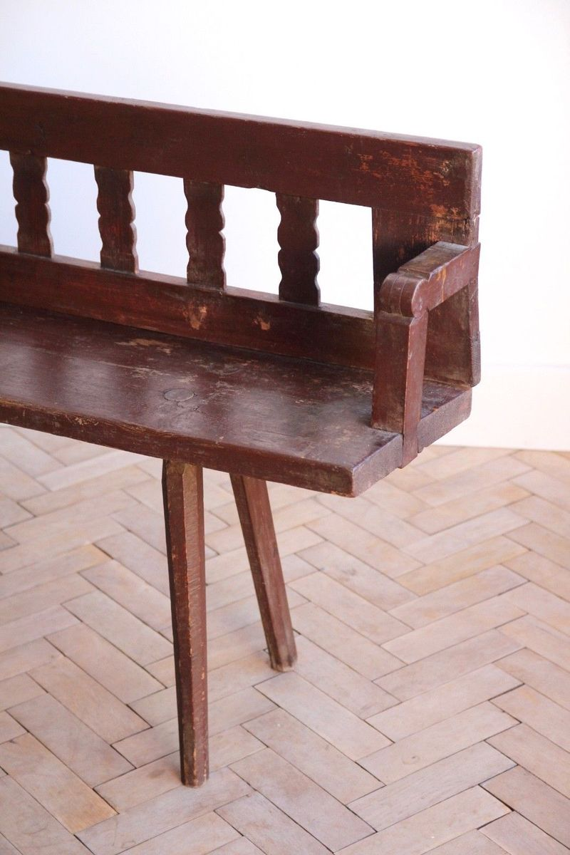 Vintage Transylvanian Wooden Garden Bench 7. $582.00. Price Per Piece