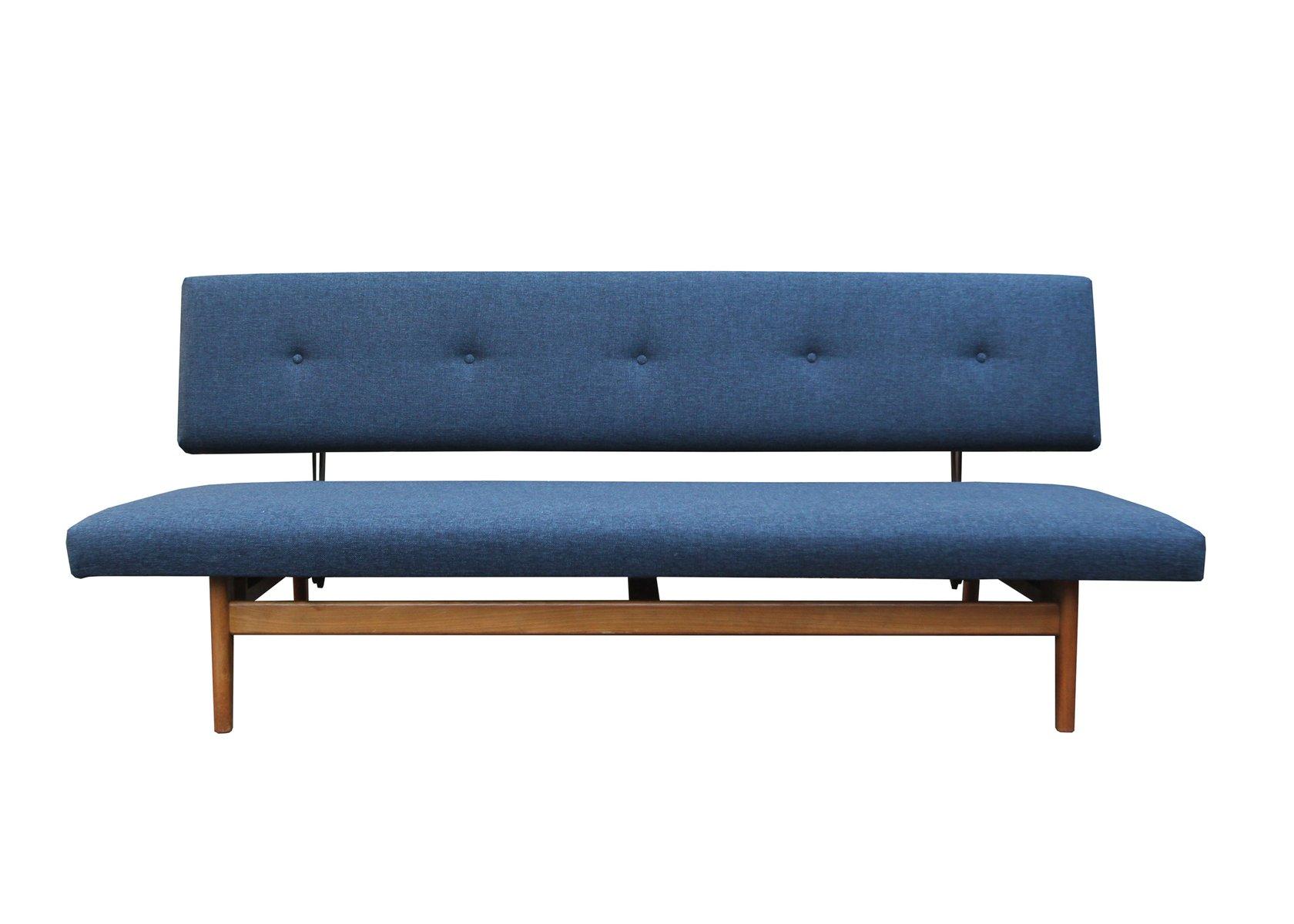 Dunkelblaues Sofa, 1960er