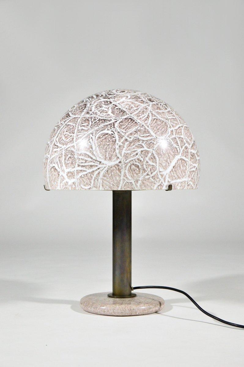 Tischlampe 832 von Ludovico Diaz de Santillana für Venini, 1970er