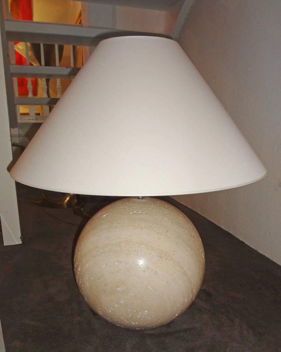 Italienische Marmorlampen von Angeletti, 1970er, 2er Set
