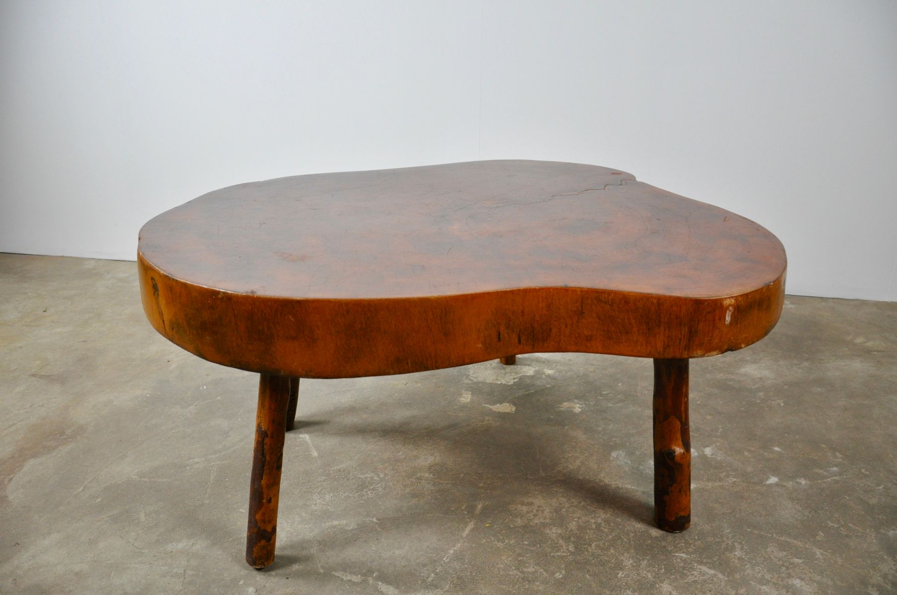 Tree Trunk Side Table 1970s 7 502 00 Price Per Set
