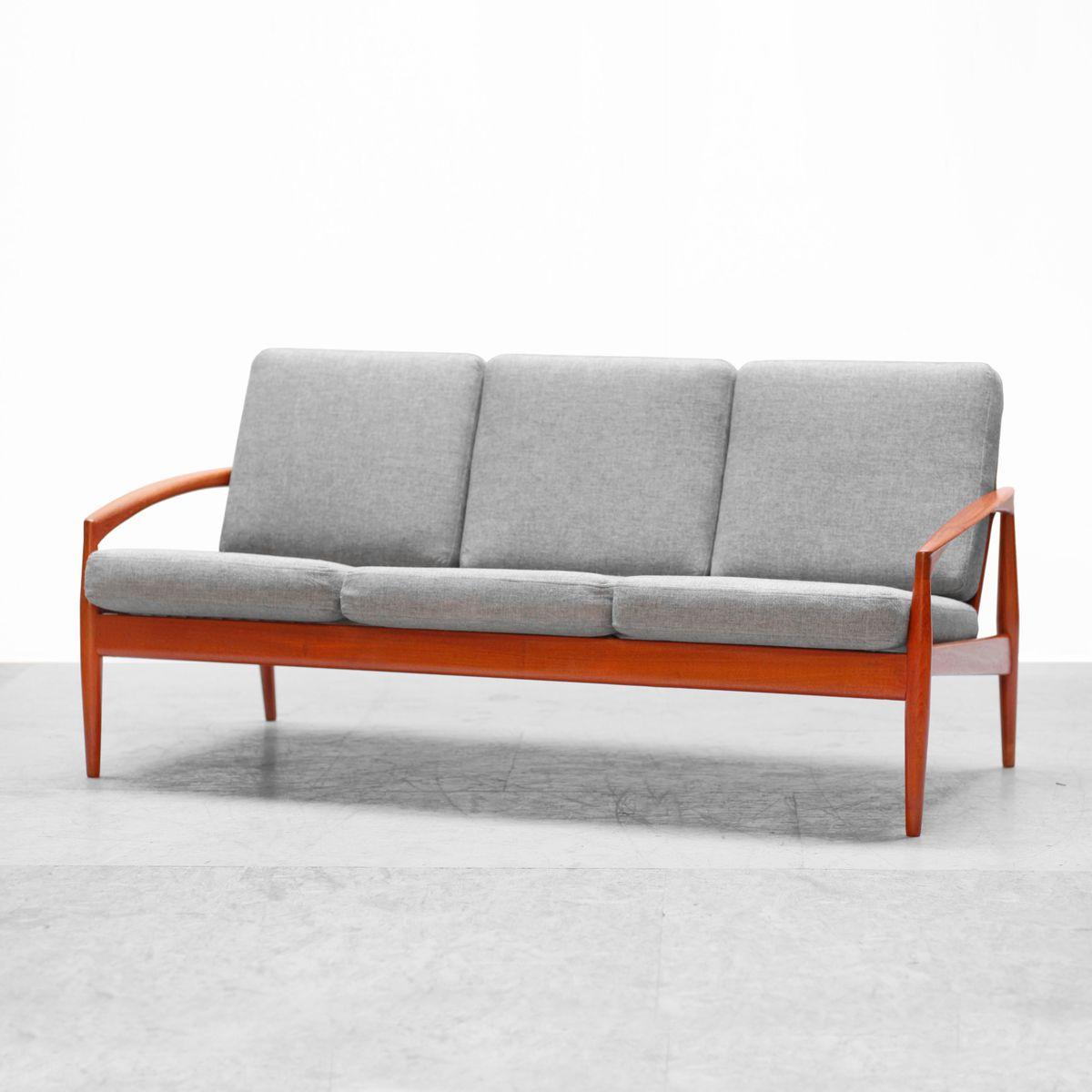 Danish Teak Sofa By Kai Kristiansen For Magnus Olesen 1950s