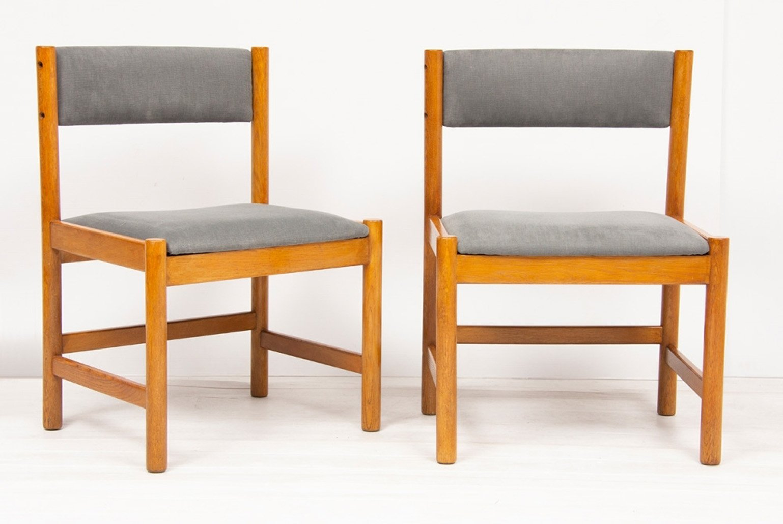 Mid Century Danish Oak Dining Chairs By Borge Mogensen For Karl Andersson Söner Set Of 6