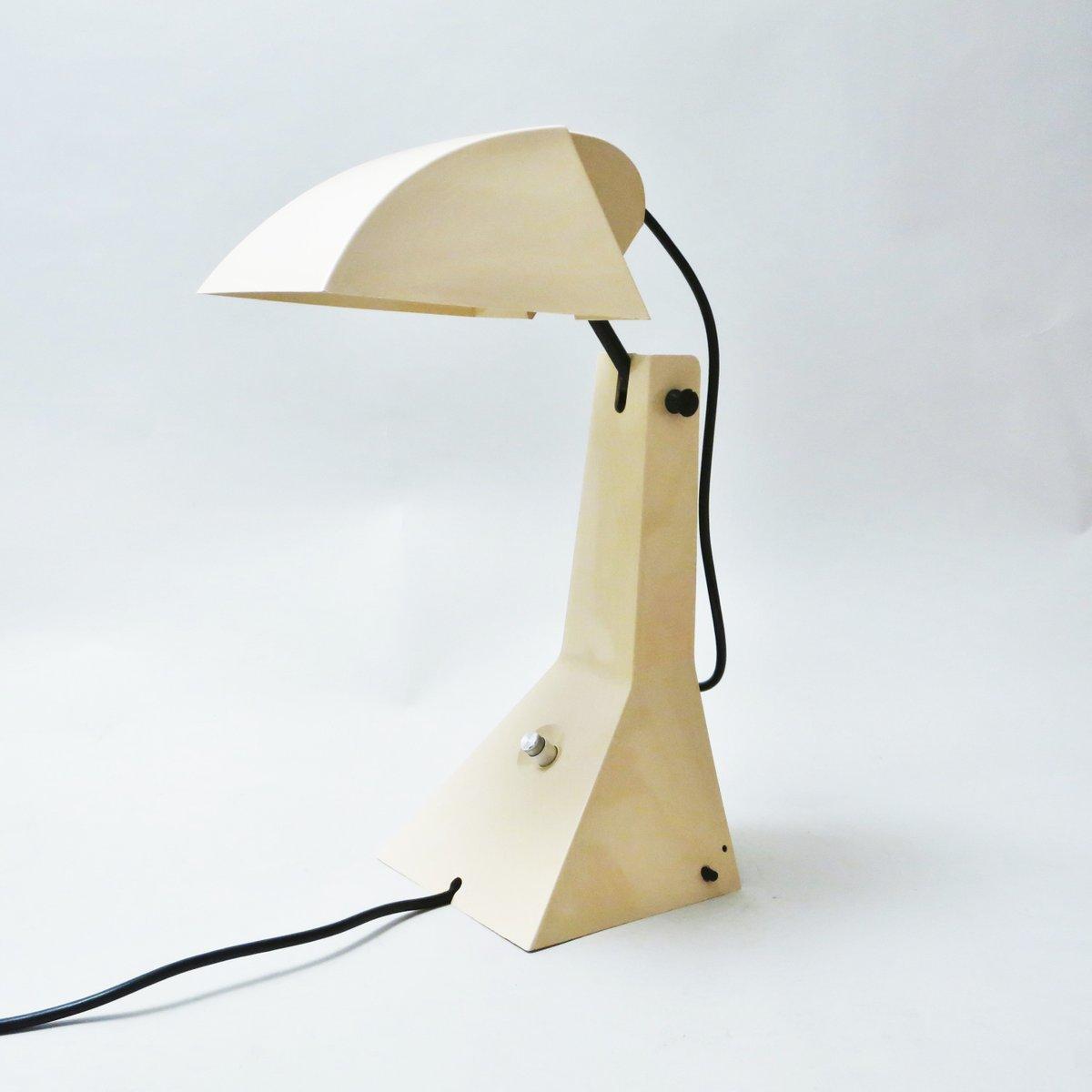 E63 Tischlampe von Umberto Riva für Bieffeplast, 1960er