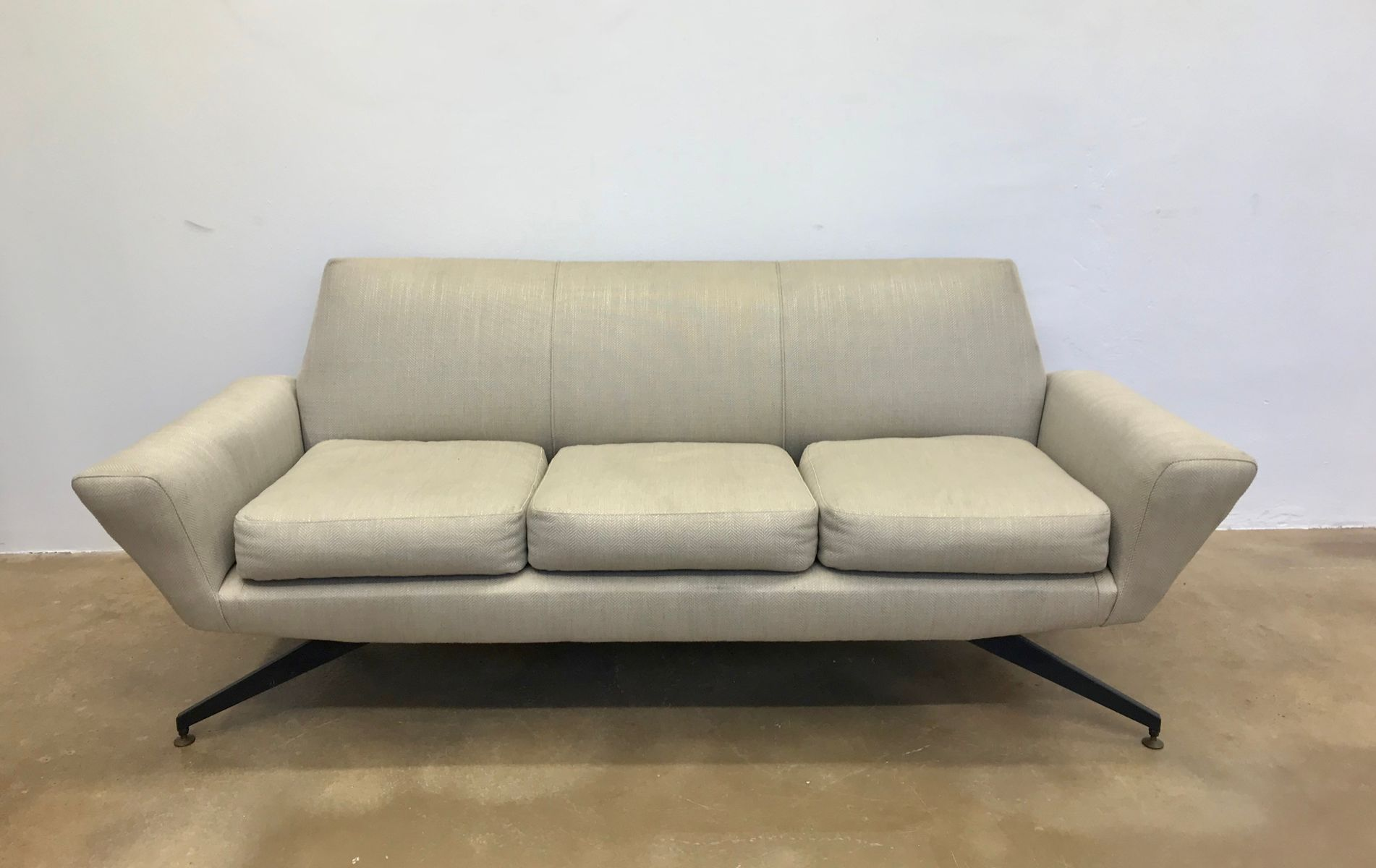 Italienisches Sofa von Lenzi, 1950er