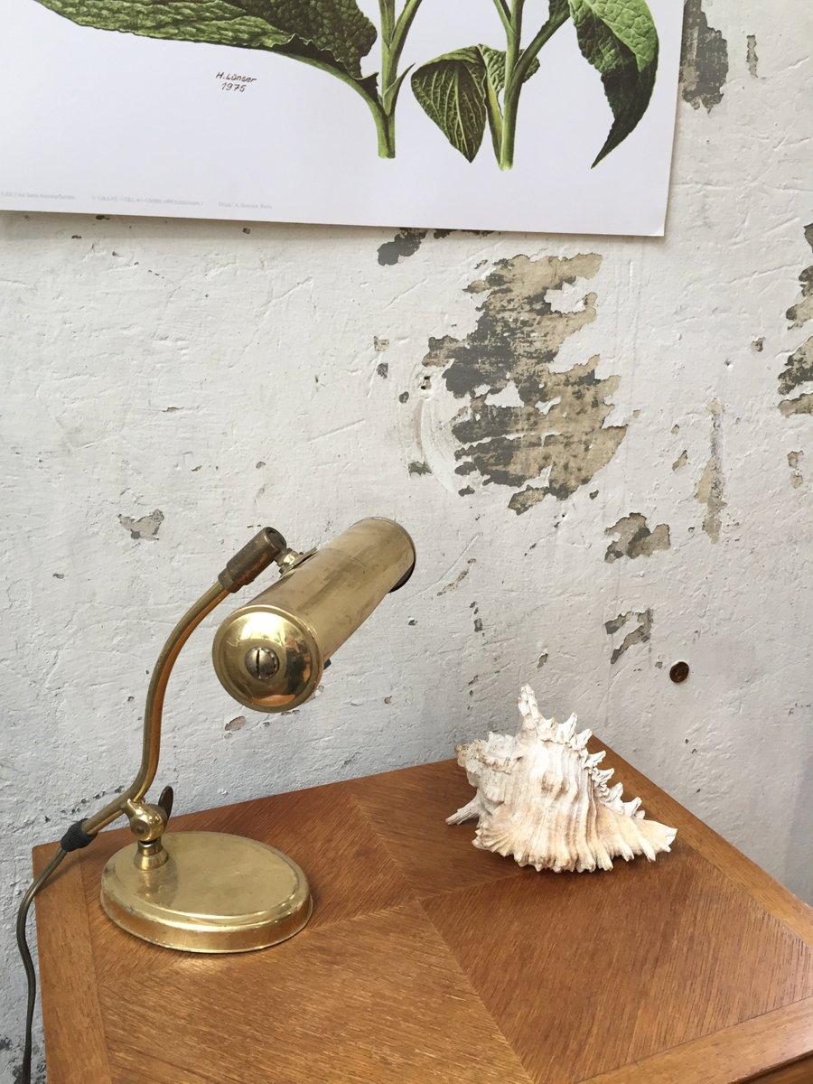 Vintage Deckenlampe aus Messing von Pfaffle
