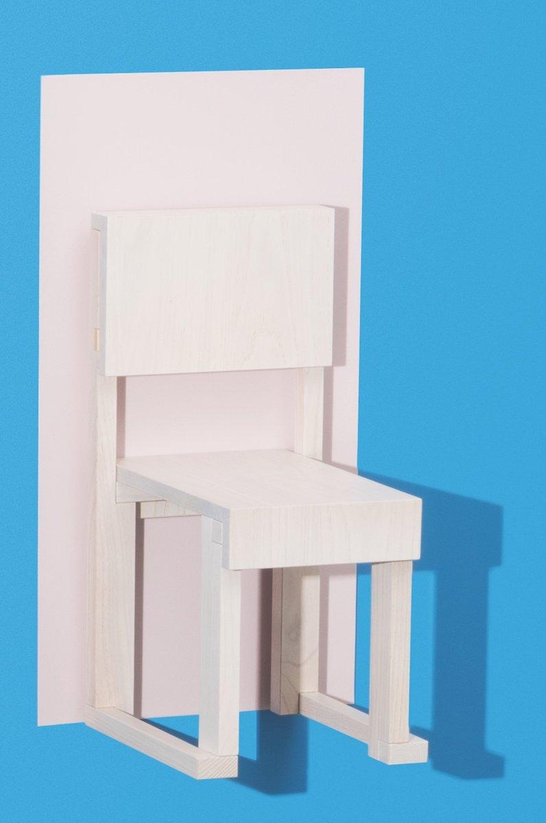 EASYDiA Sugar Kinderstuhl von Massimo Deutschei Architetto für Progett... | Kinderzimmer > Kinderzimmerstühle > Kinderstühle | Weiß | Holz | Progetto Arcadia
