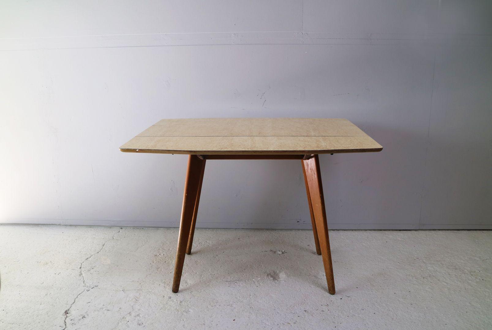 Tavolo da cucina allungabile vintage di Styles & Mealing, anni \'60 ...