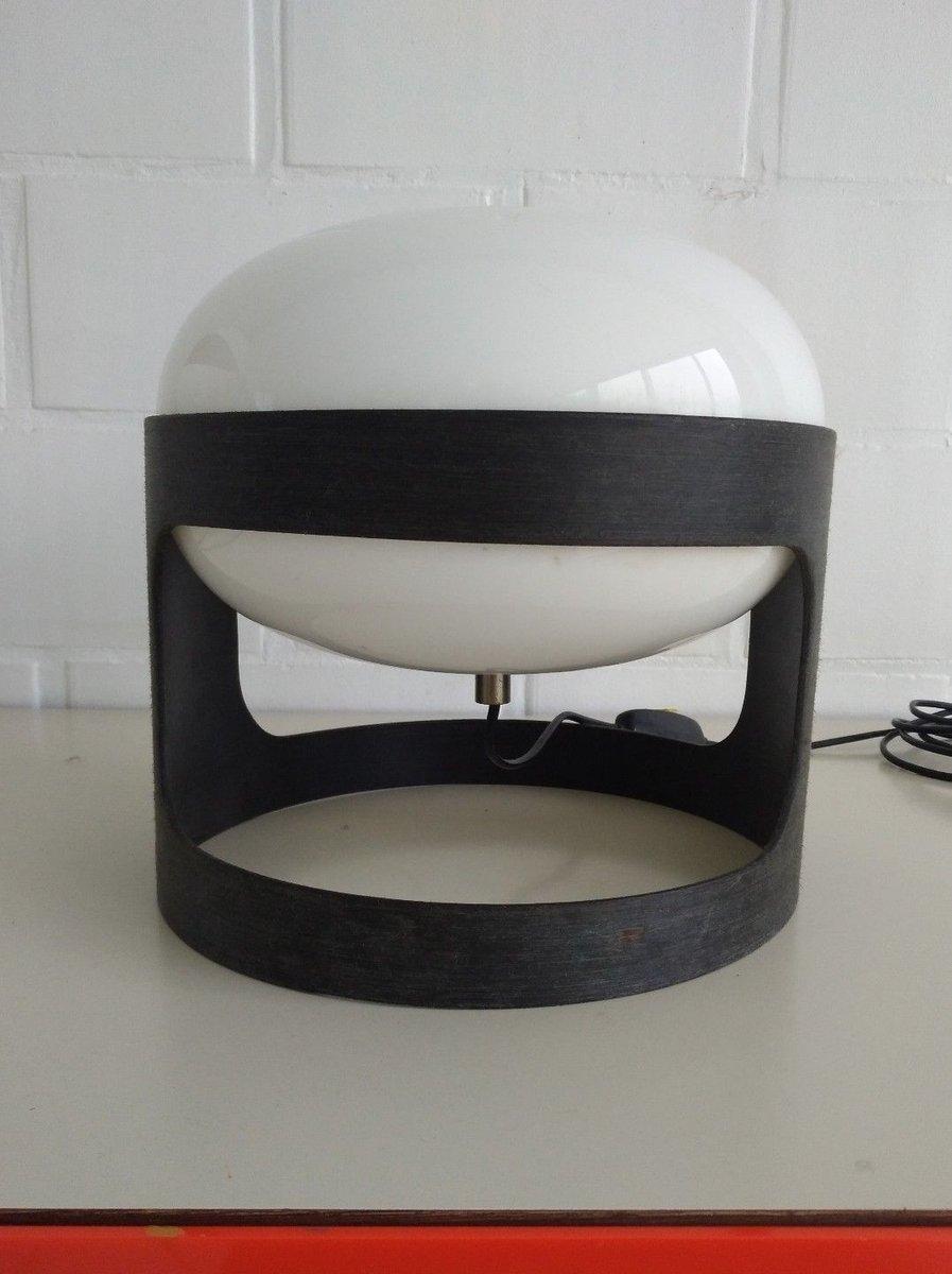 Ebanil Preproduktion KD27 Tischlampe aus Kunststoff von Joe Colombo fü...