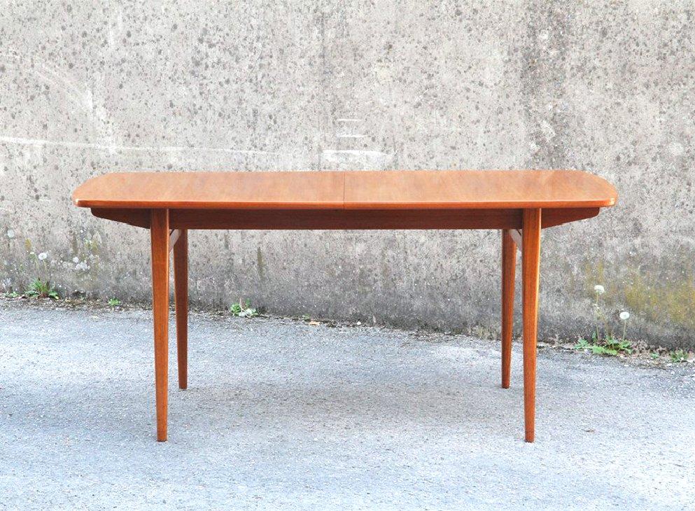 Rechteckiger Modell 59 Tisch, 1960er