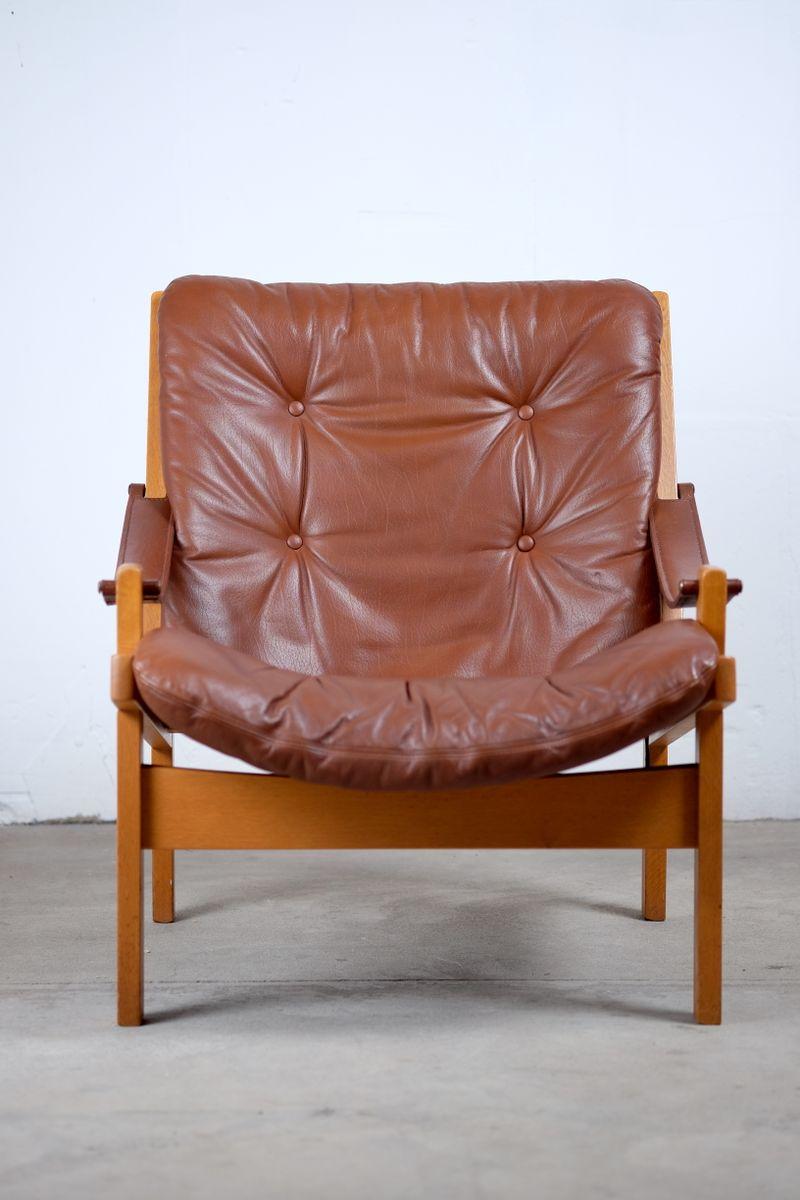 Hunter Safari Chairs von Torbjörn Afdal für Bruksbo Norwegen, 1960er, ...