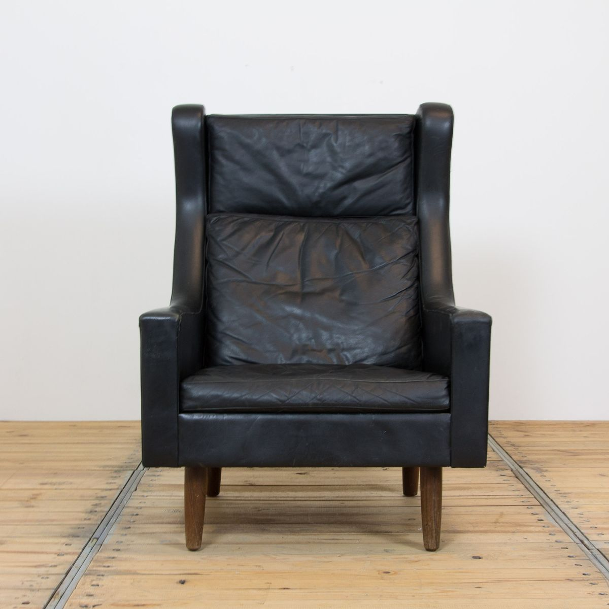 1960s Missoni Wingback Chair At 1stdibs: Danish Wingback Lounge Chair, 1960s For Sale At Pamono