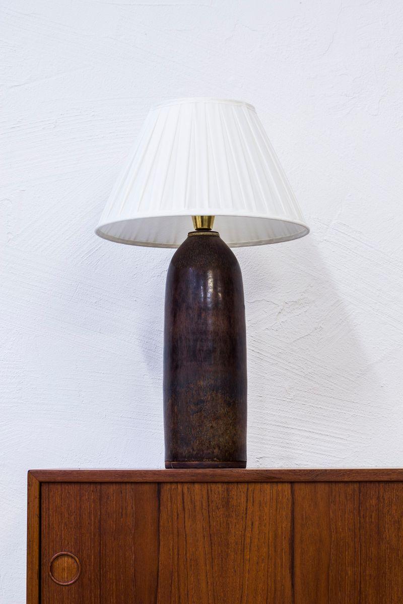 Tischlampe von Carl Harry Stålhane für Rörstrand, 1967