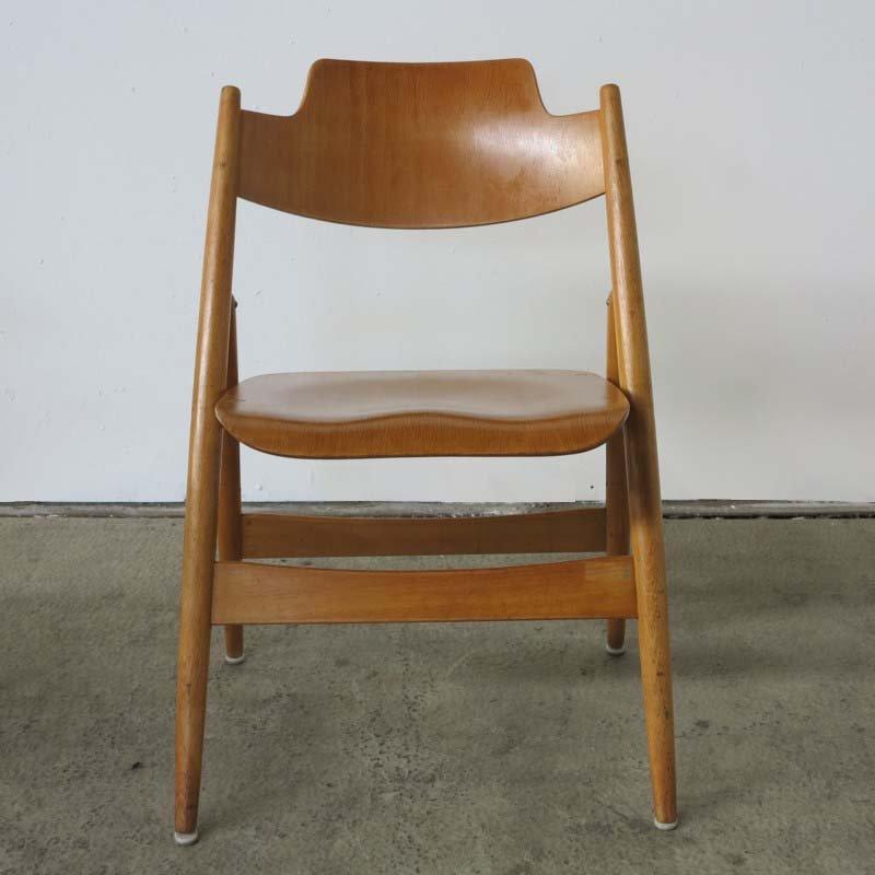 Vintage Folding Chairs By Egon Eiermann For Wildespieth Set Of 2