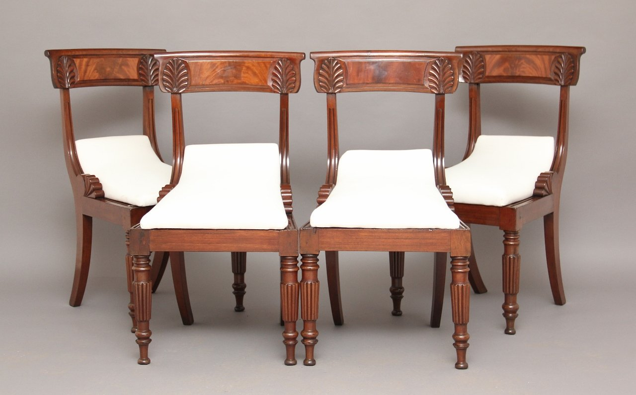 antike esszimmerst hle 4er set bei pamono kaufen. Black Bedroom Furniture Sets. Home Design Ideas