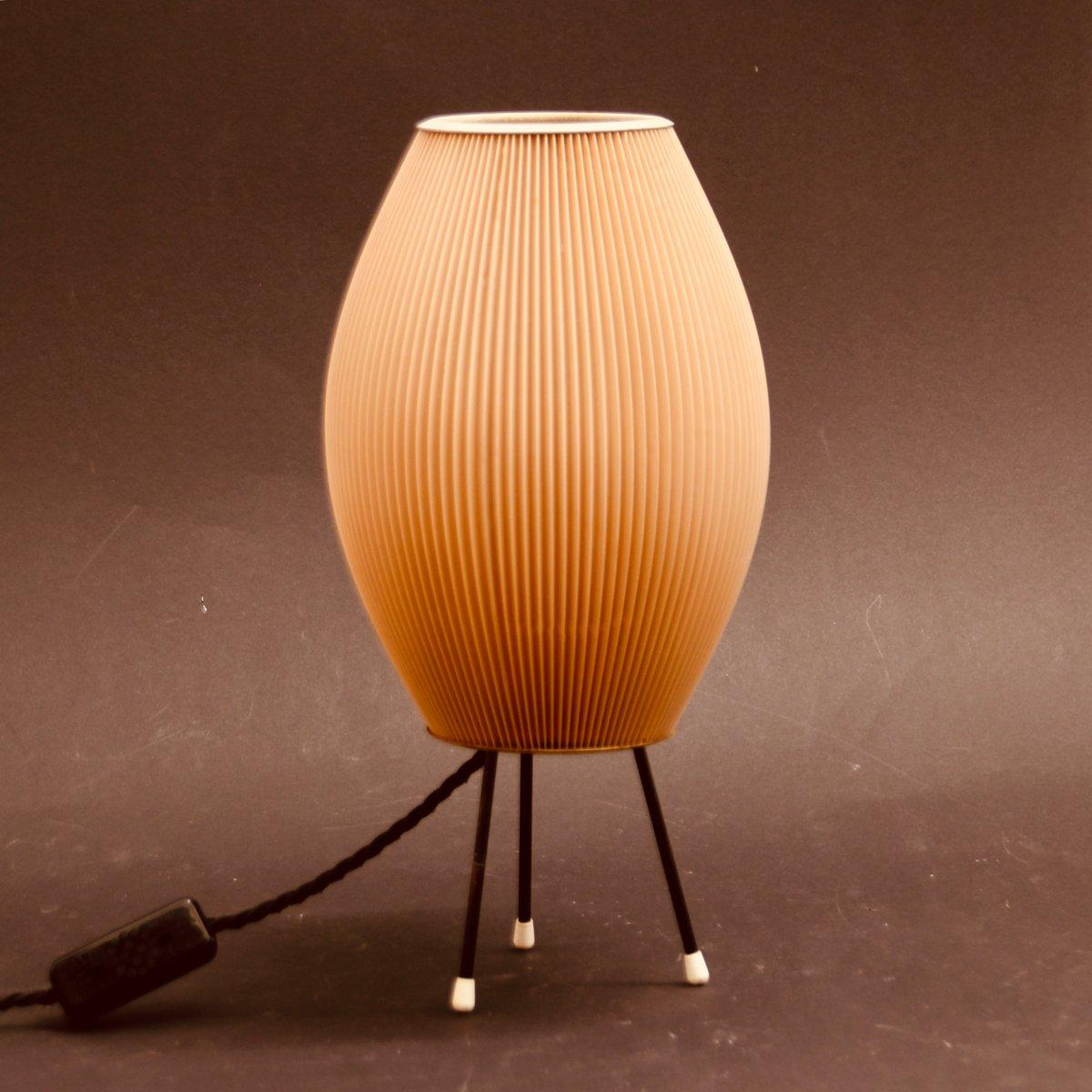 Dreibeinige französische Tischlampe von Rispal, 1950er