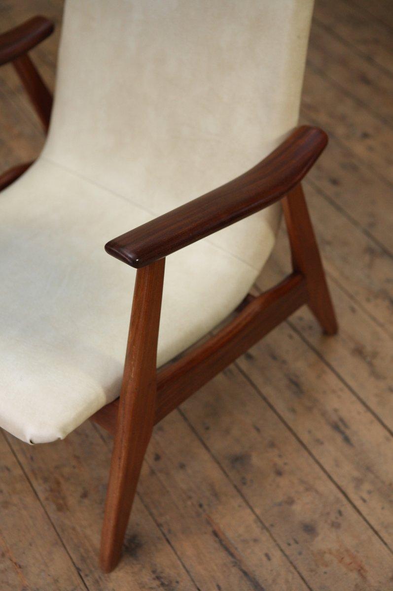 stuhl mit hoher r ckenlehne von louis van teeffelen bei pamono kaufen. Black Bedroom Furniture Sets. Home Design Ideas
