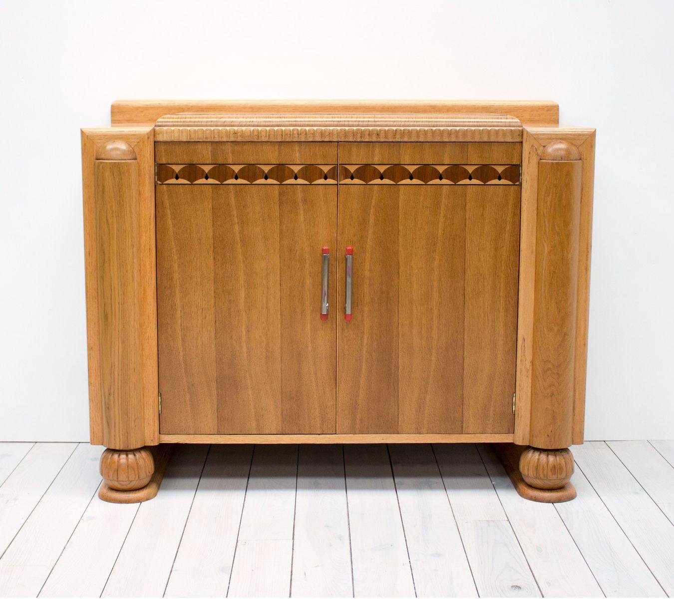 Englisches Art Deco Sideboard aus Eiche von CWS Ltd, 1939