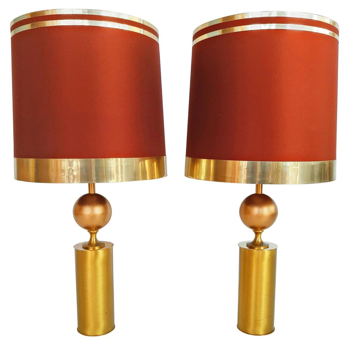 Große spanische Tischlampen von Lyma, 1970er, 2er Set