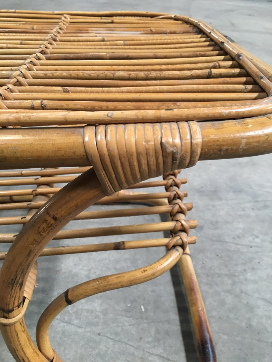 Italienischer couchtisch aus bambus 1960er bei pamono kaufen - Bambus couchtisch ...