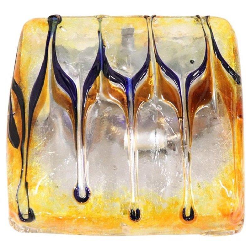 Murano Glass Ceiling Lamp, 1980s