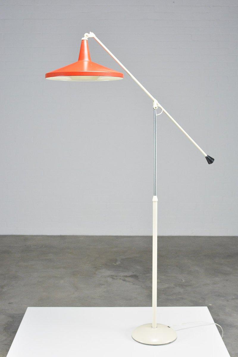 6350 Panama Stehlampe von Wim Rietveld für Gispen, 1957