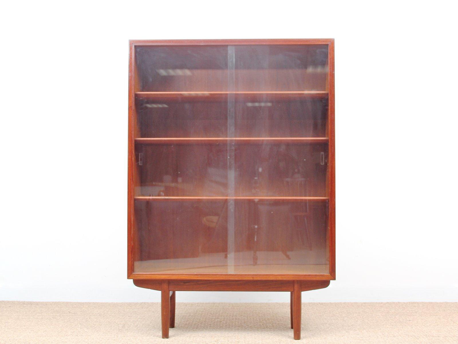 Mid Century Danish Teak Display Cabinet By Borge Mogensen For Søborg