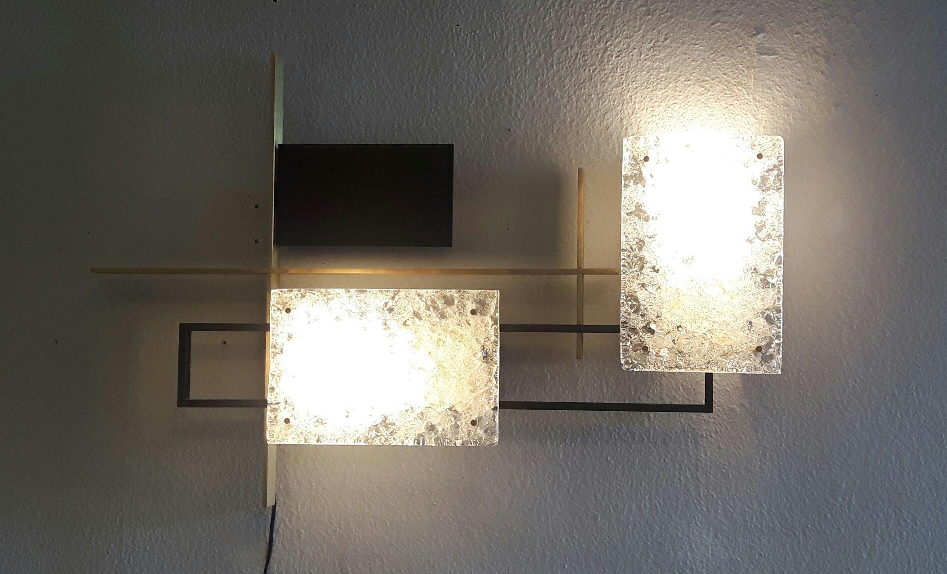 Grande applique en pl tre tommi en blanc luminaire