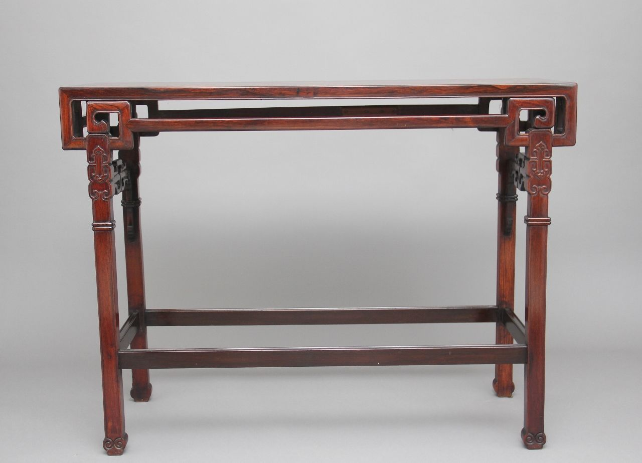 Chinese Side Table.19th Century Chinese Side Table For Sale At Pamono