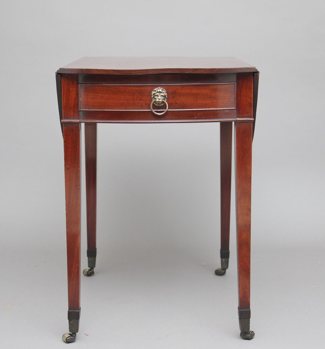 Pembroke Tisch aus Mahagoni, 1790er