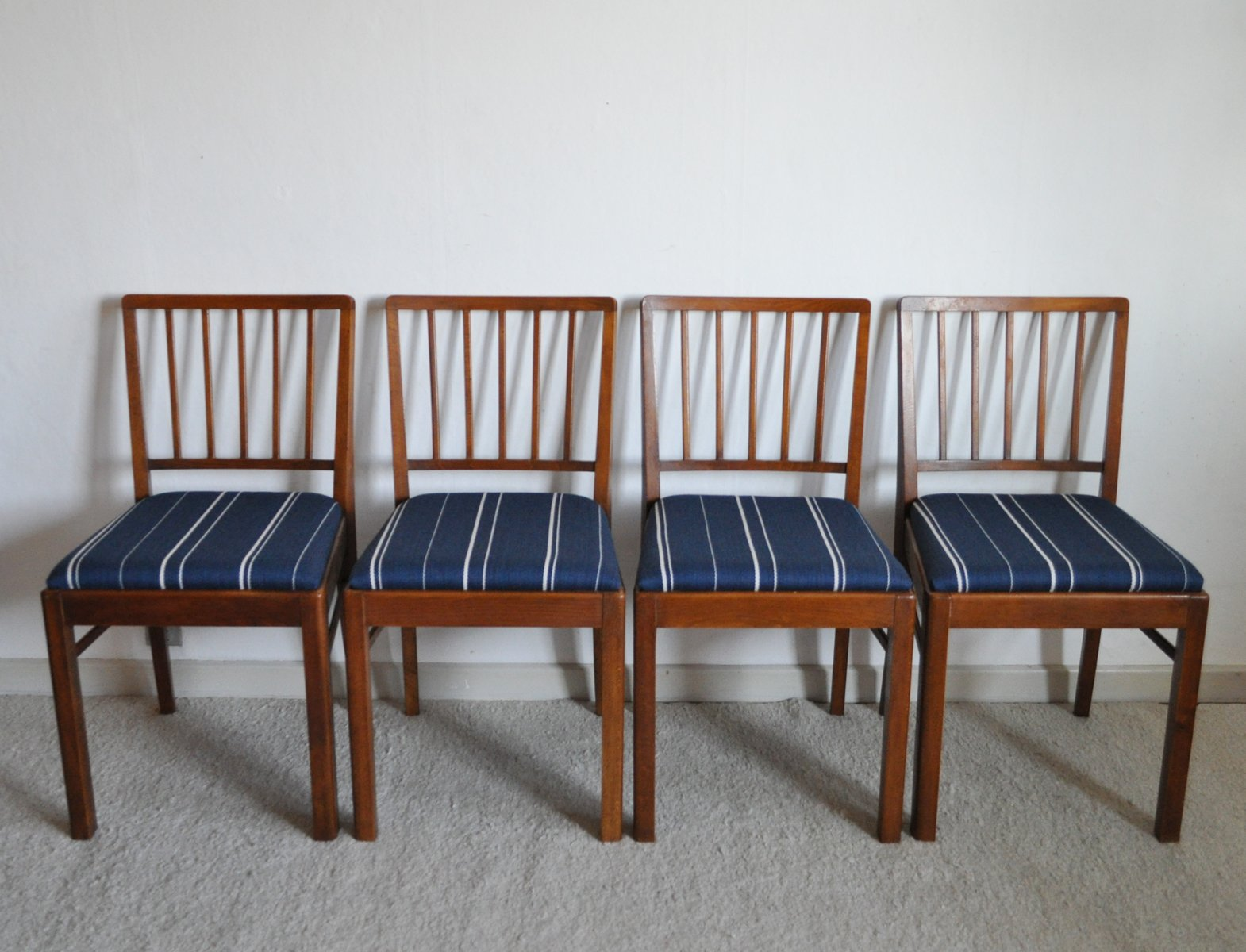 Danish Dining Chairs 1940s Set Of 4 For Sale At Pamono